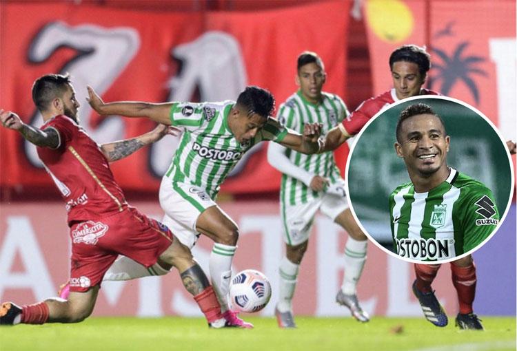 Atlético Nacional perdió en la Libertadores y así reaccionó Macnelly Torres