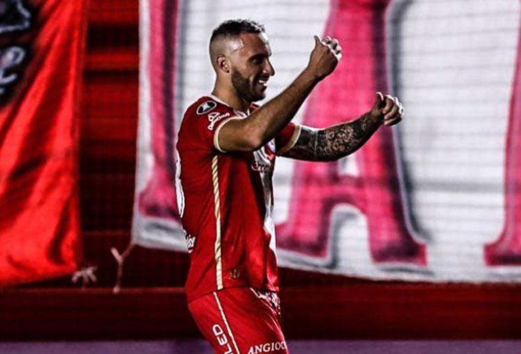 Emanuel Herrera, el goleador que quiso Atlético Nacional y ahora lo amargó en Libertadores