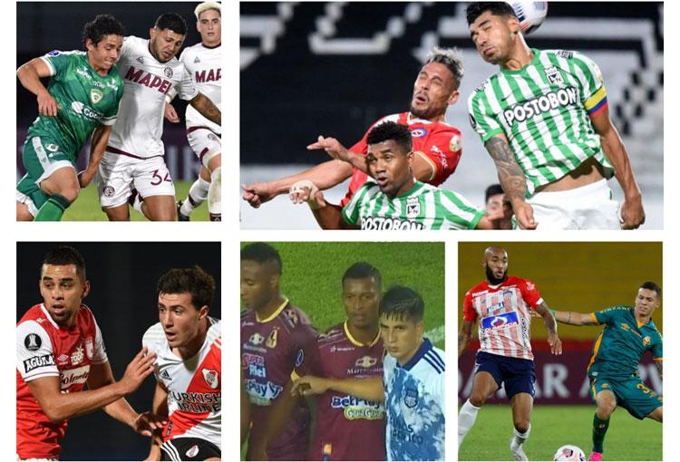 5 equipos colombianos fueron locales lejos de Colombia y no ganaron un solo partido