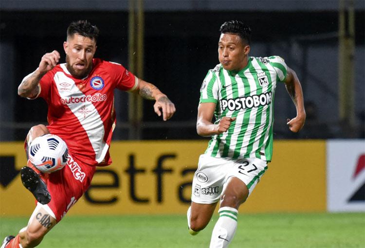 ¿Cuál es el rendimiento de Atlético Nacional en Copa Libertadores 2021?
