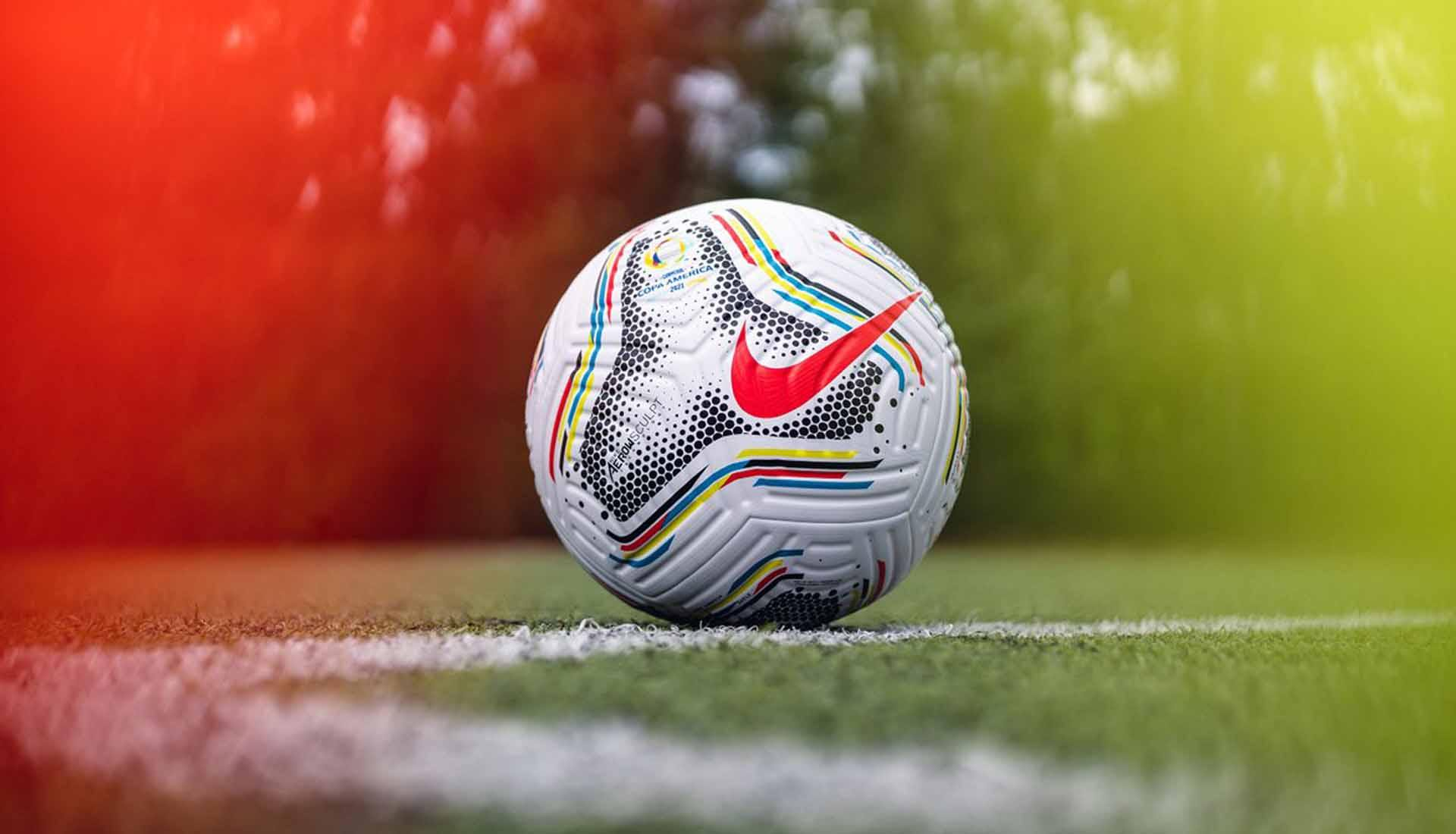 balon oficial de nike para la copa america del 2021