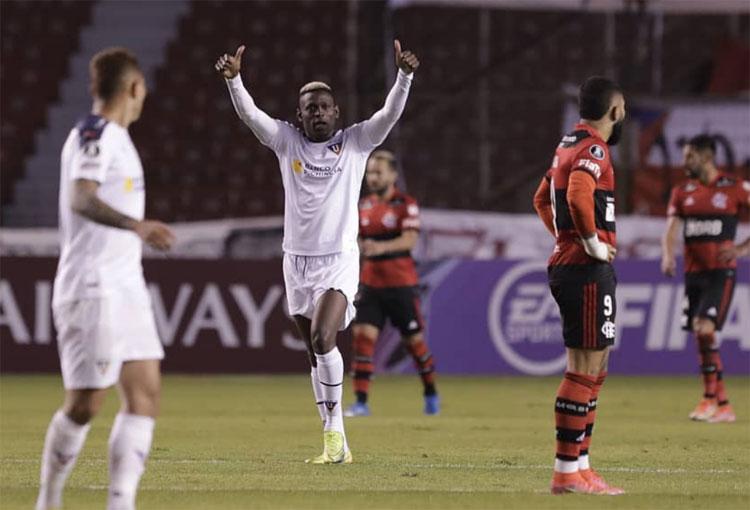 Martínez Borja en la Libertadores 2021: 3 partidos, 3 goles