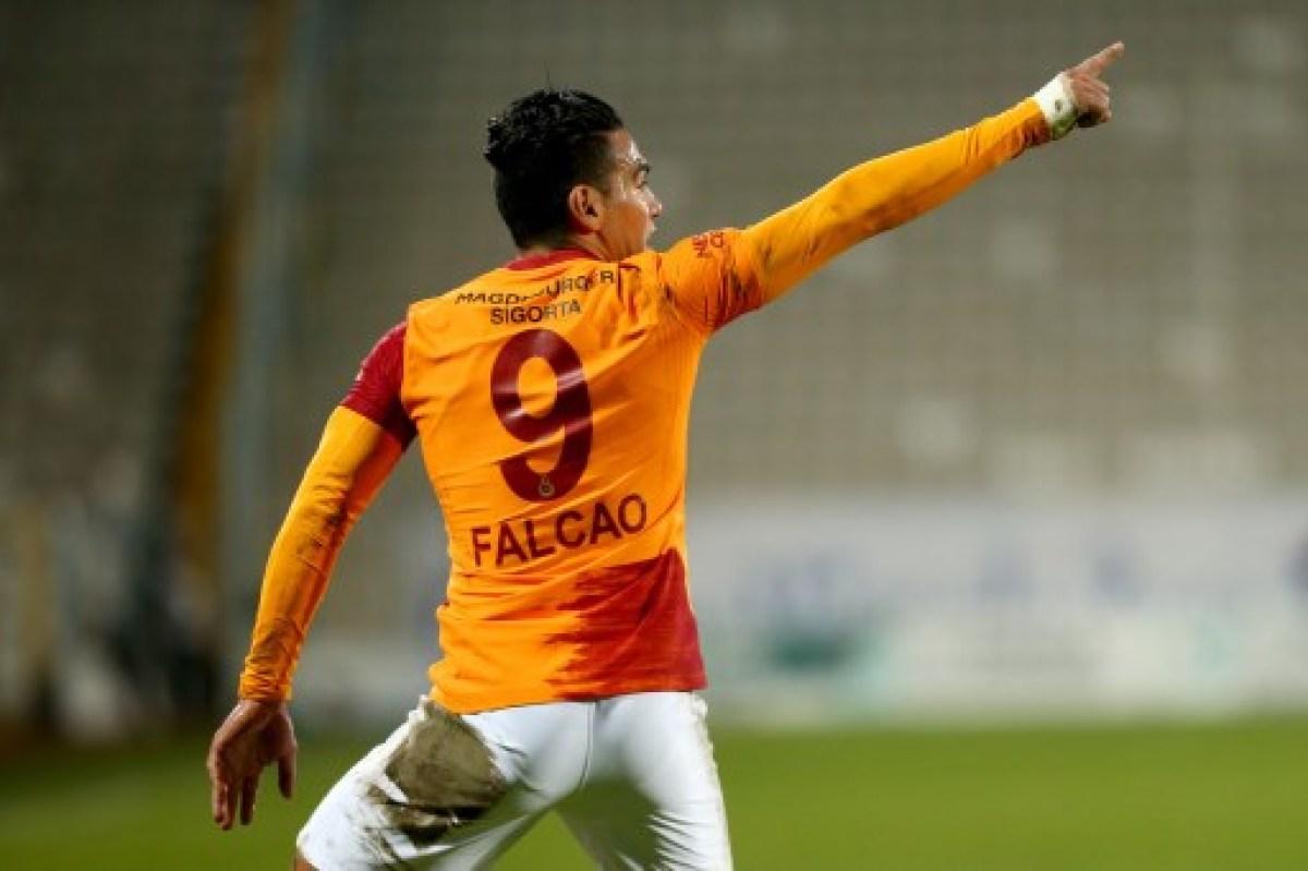 ¡Galatasaray confirmó nueva lesión de Falcao Garcia! Se pierde el juego ante Rodallega