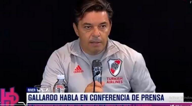 Marcelo Gallardo lamentó lo que pasa en Colombia y confirmó viaje de River Plate a Armenia