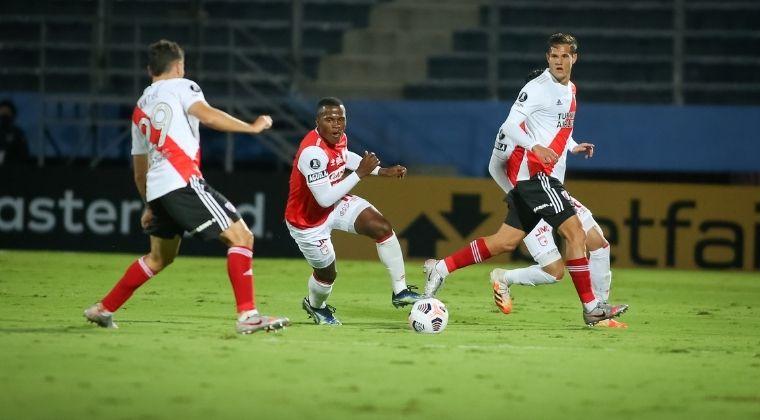 Así quedó Santa Fe en la tabla de posiciones tras empatar ante River Plate en la Libertadores