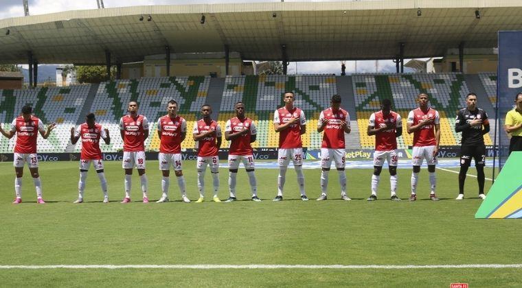 Malas noticias en Santa Fe: El equipo confirmó cinco bajas para enfrentar a Fluminense