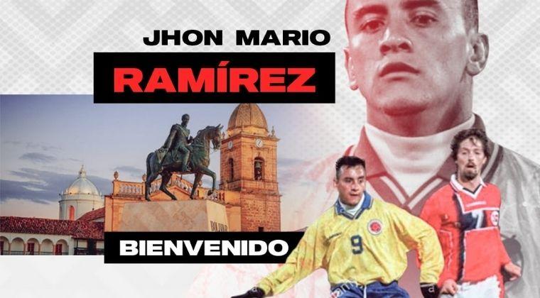 Es oficial: Jhon Mario Ramírez es nuevo DT de Patriotas Boyacá