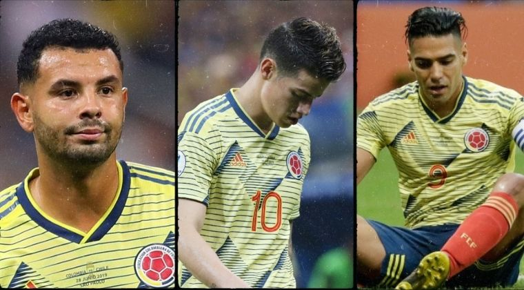 ¿Selección Colombia sin figuras? Preocupante momento a una semana de la convocatoria