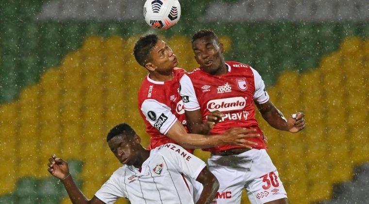"""Lo que dijeron los jugadores de Fluminense sobre el duelo ante el """"aguerrido"""" Santa Fe"""