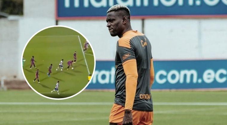 El insólito blooper que protagonizó Martínez Borja en la Copa Libertadores