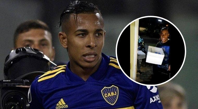 Sebastián Villa, de nuevo en el 'ojo del huracán' en Boca Juniors por una nueva fiesta