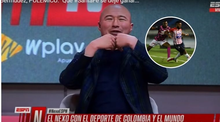 Jorge Bermúdez pidió que Santa Fe se dejará ganar del Junior en la Libertadores