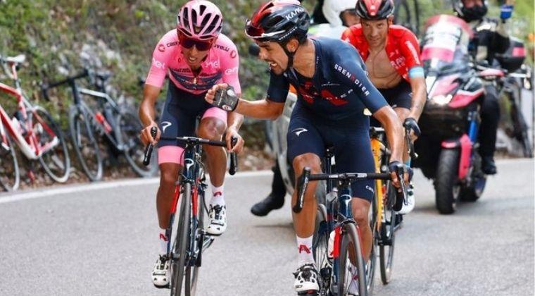 Lo que dijo Egan Bernal tras su mal dia en la etpa 17 del Giro de Italia