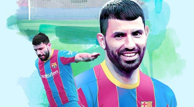 FC Barcelona oficializó la llegada del Kun Agüero