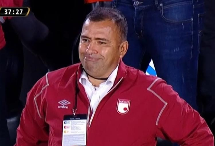 Hárold Rivera, su explicación a la derrota con River y una respuesta: ¿Se va de Santa Fe?