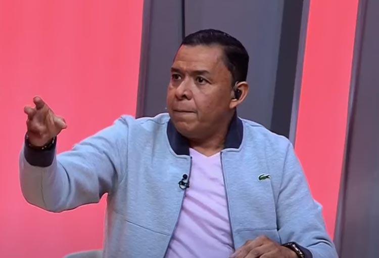 """Valenciano y su respuesta a la idea: """"Que Santa Fe se deje ganar de Junior"""""""