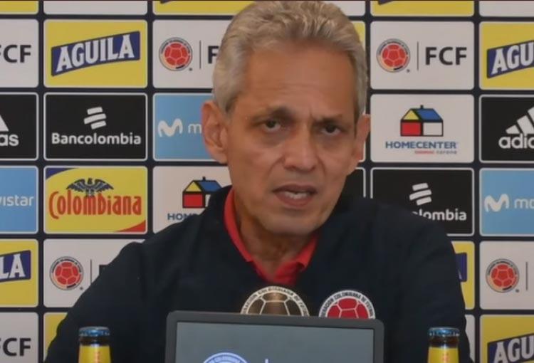 Reinaldo Rueda y la explicación la salida de James Rodríguez de la convocatoria de la Selección Colombia