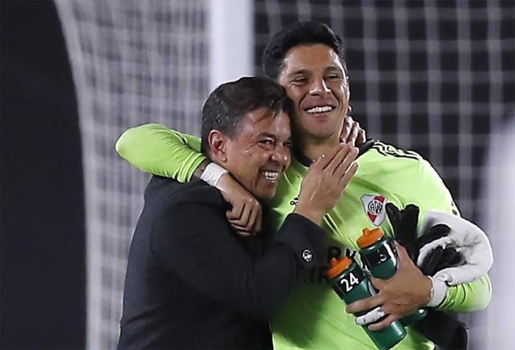 """Gallardo, el porqué tapó Enzo Pérez y """"esto no se ha vivido nunca, quedará marcado muy a fuego"""""""