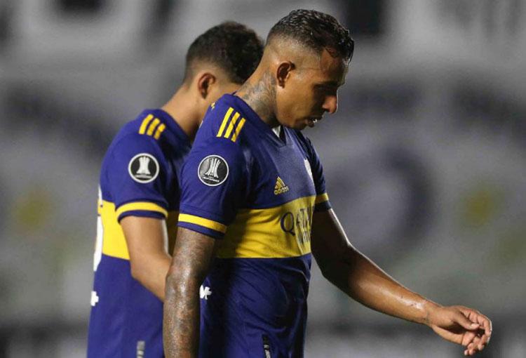 Boca perdió en la Libertadores y hay críticas para Frank Fabra y Sebastián Villa