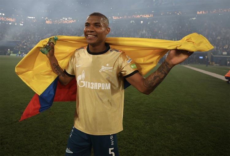 ¡El quinto título de Wilmar Barrios con FC Zenit!