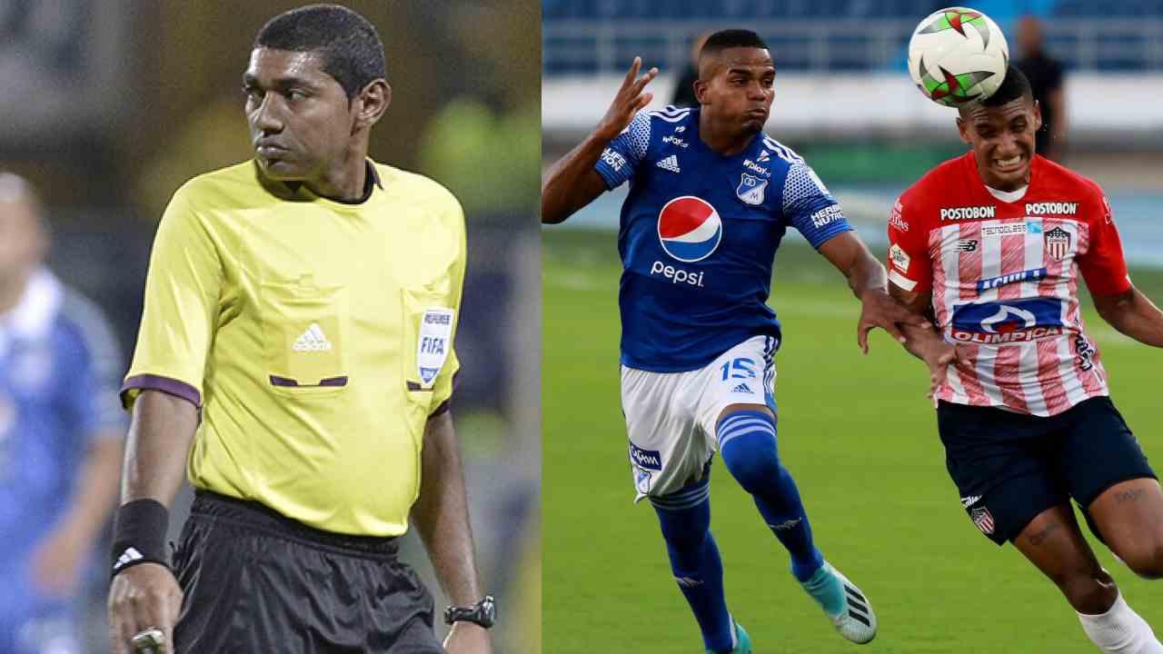 ¡Vuelve Imer Machado! El árbitro estará en la semifinal entre Millonarios y Junior