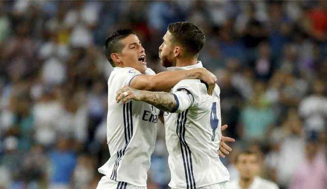 Las palabras de James Rodríguez para Sergio Ramos tras salir del Real Madrid