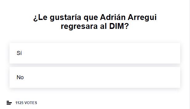 Adrián Arregui, Deportivo Independiente Medellín, DIM, fichajes DIM 2021-II, Club Atlético Independiente, encuesta