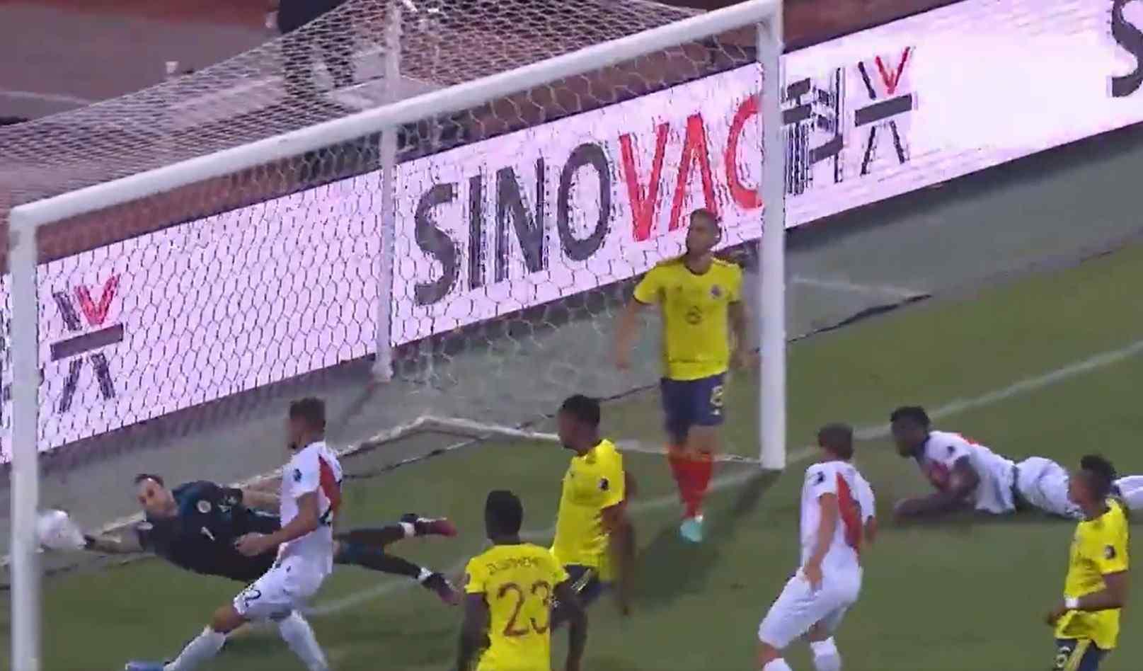Autogoles de la Selección Colombia en Copa América