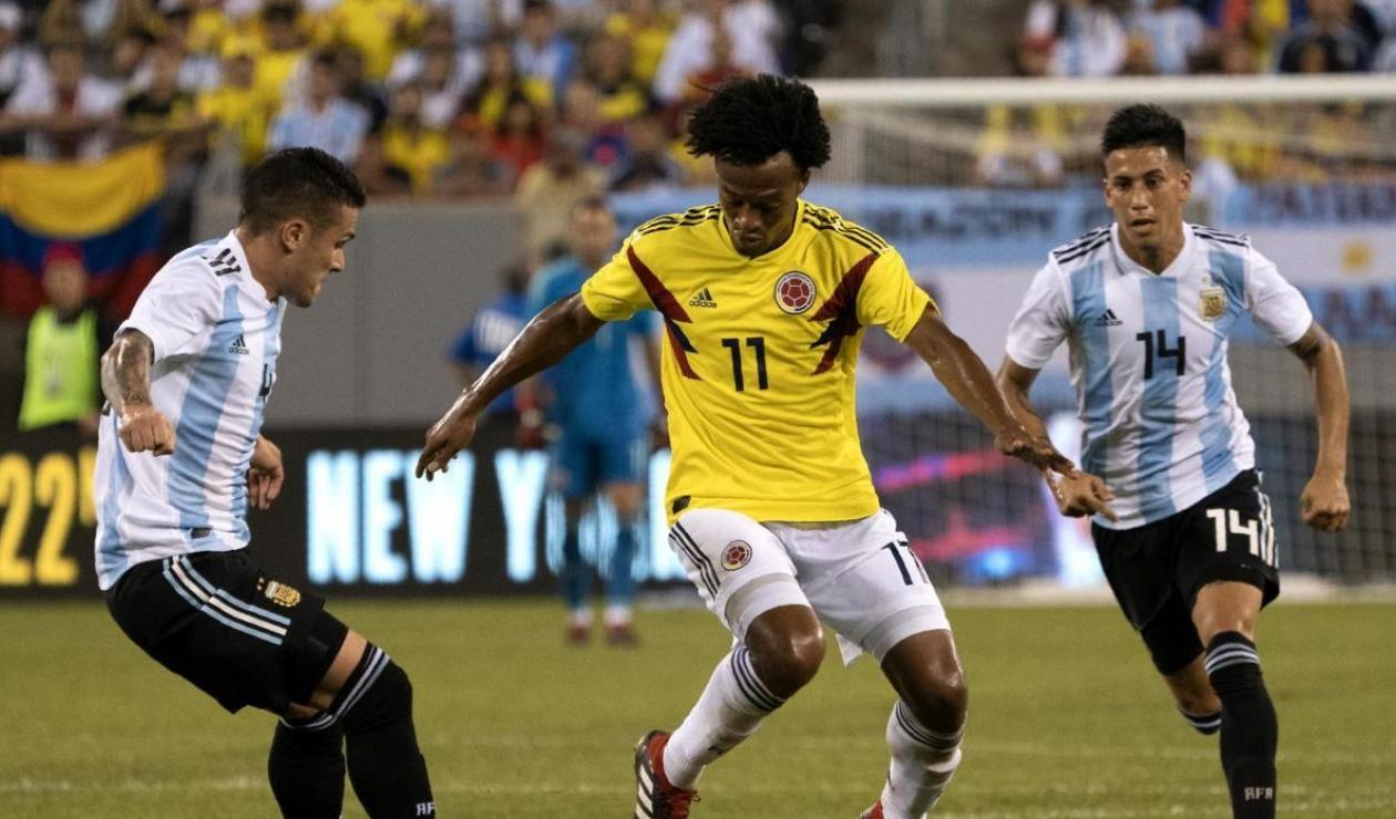 Selección Colombia: a romper racha negativa contra Argentina