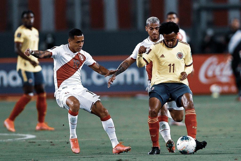 Los impresionantes datos de Cuadrado con la Selección Colombia vs. Perú