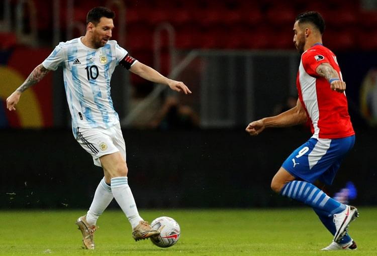 Copa América Brasil 2021, Selección de Argentina, Selección de Paraguay