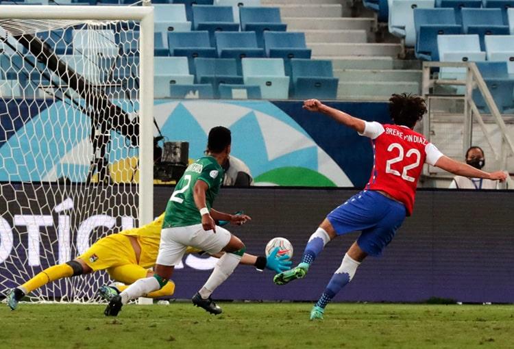 Copa América Brasil 2021, Selección de Chile, Selección de Bolivia