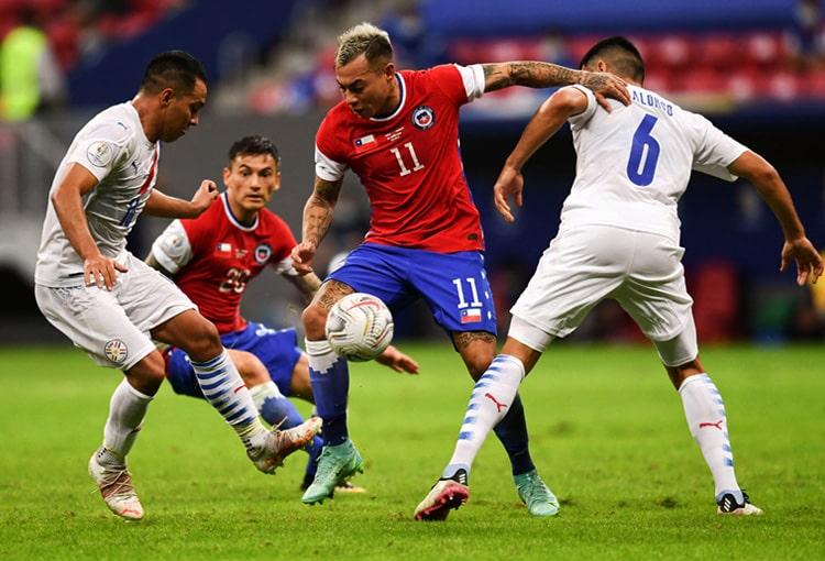 Copa América Brasil 2021, Selección de Chile, Selección de Paraguay