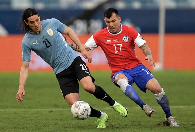 Copa América Brasil 2021, Selección de Chile, Selección de Uruguay