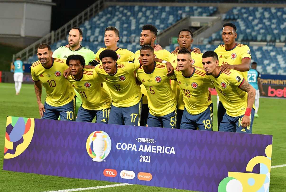 Copa América: Formación titular de Colombia contra Venezuela