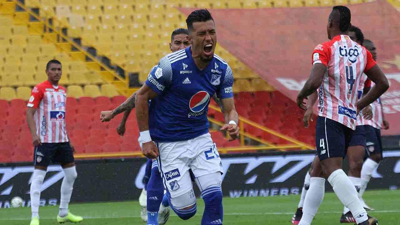 Después de 4 años, Millonarios regresó a una final del fútbol colombiano