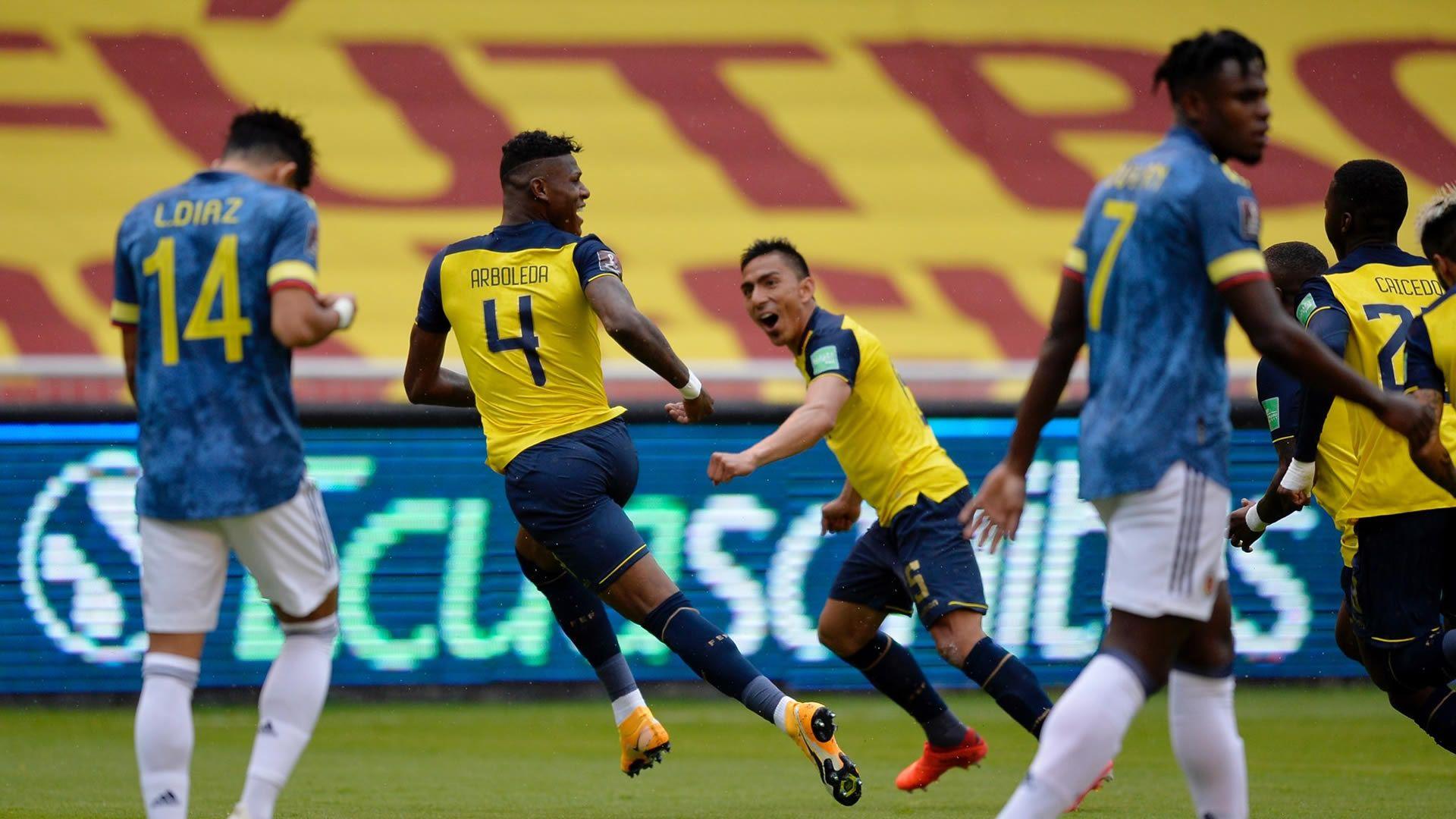 ¿Cómo le ha ido a la Selección Colombia contra Ecuador?