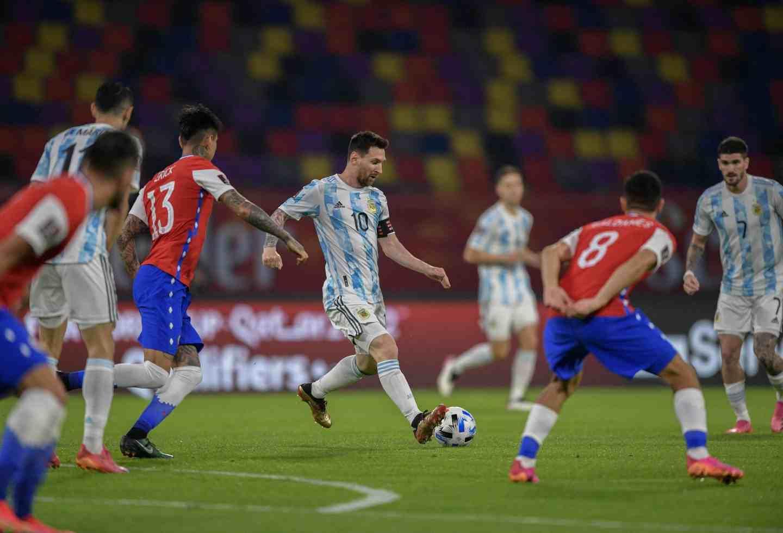 El 11 titular que tendría Argentina contra Colombia