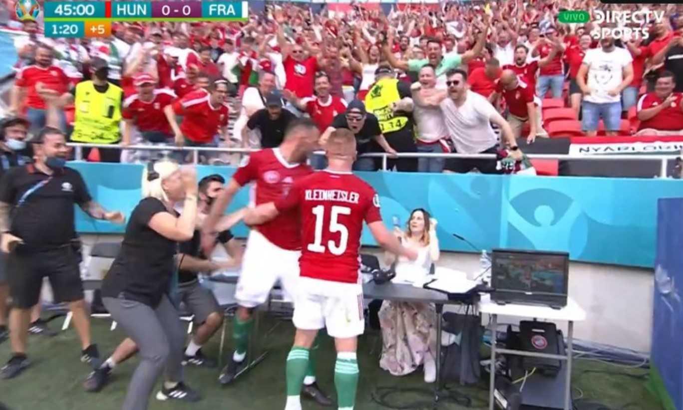 El festejo más rabioso de la Euro 2020 lo hizo Hungría