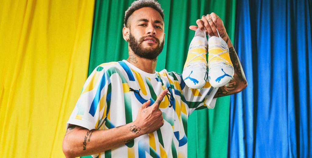 Guayos Puma que tendrá Neymar en la Copa América