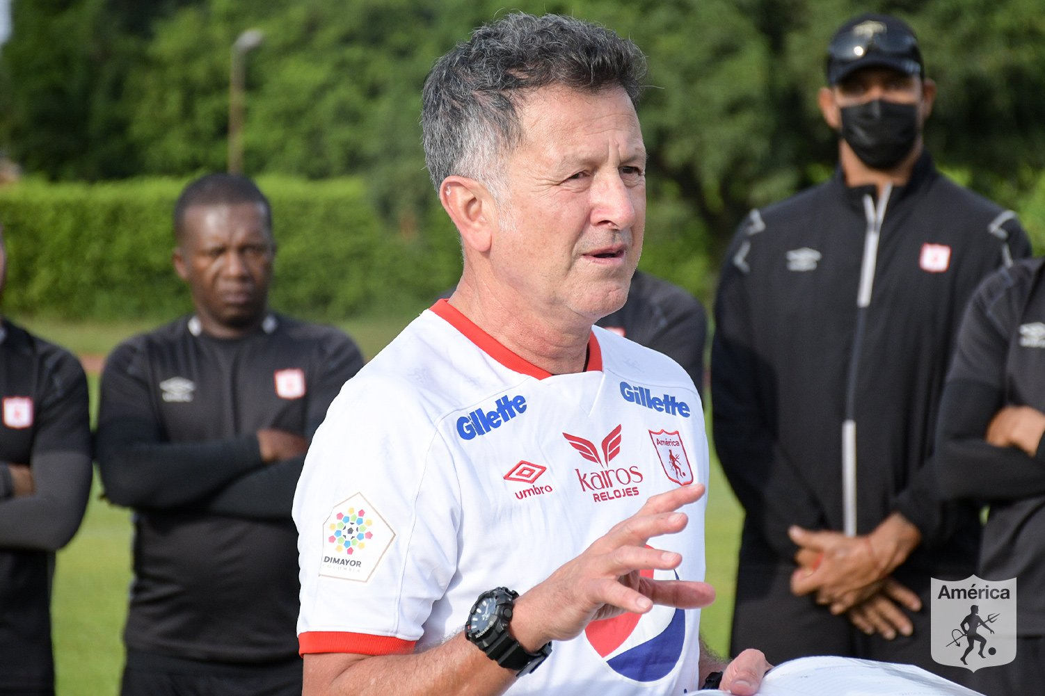 ¡Inició la era Juan Carlos Osorio en América! Primer entrenamiento del profe