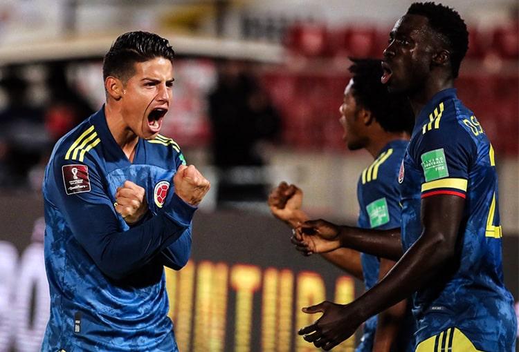 James Rodríguez, Reinaldo Rueda, Copa América 2021, Eliminatorias al Mundial de Fútbol Qatar 2022, Selección Colombia