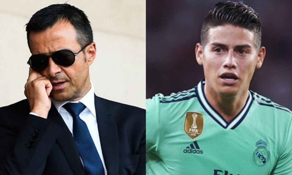 La movida de Jorge Mendes para regresar a James Rodríguez a Madrid