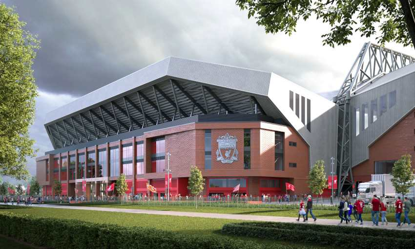 Liverpool estudia aumentar la capacidad de Anfield
