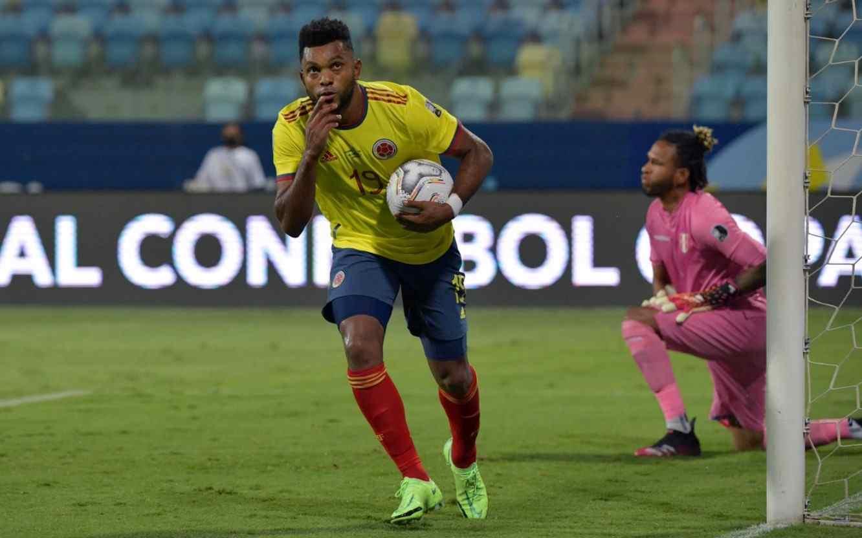 Miguel Borja se especializa en goles determinantes para Colombia