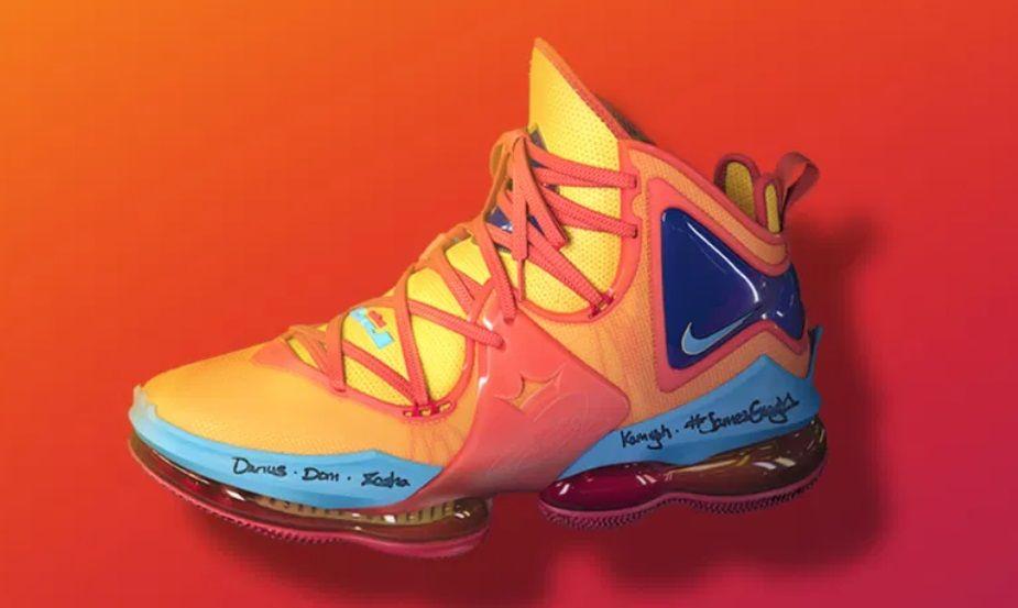 Nike presenta las zapatillas LeBron James, que se usaron en Space Jam 2
