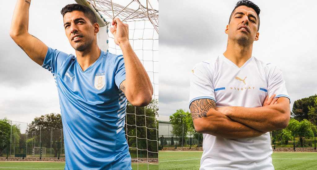 Nuevos uniformes Puma para la Selección de Uruguay