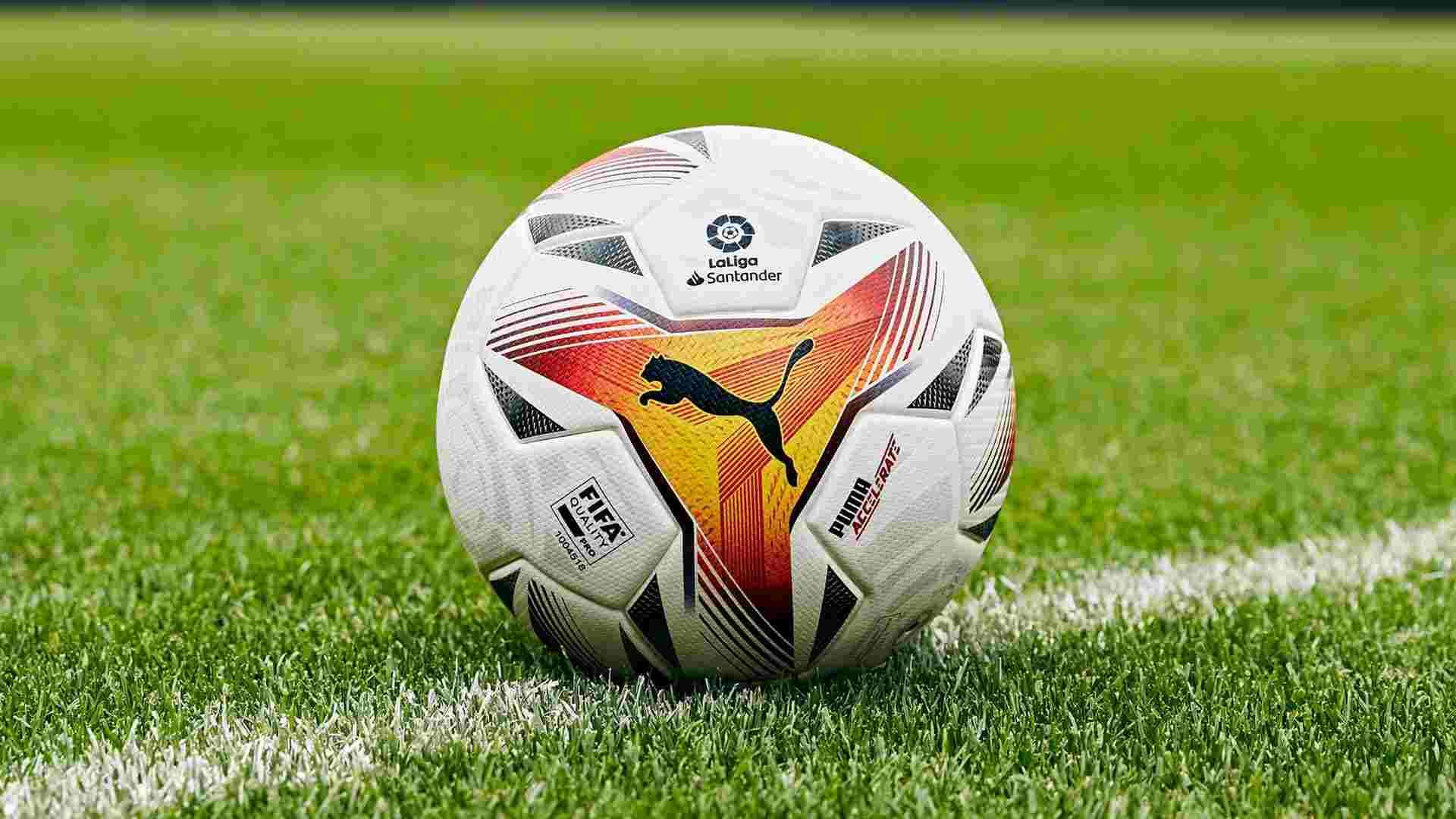 PUMA y LaLiga presentan un nuevo balón para la temporada 2021/2022