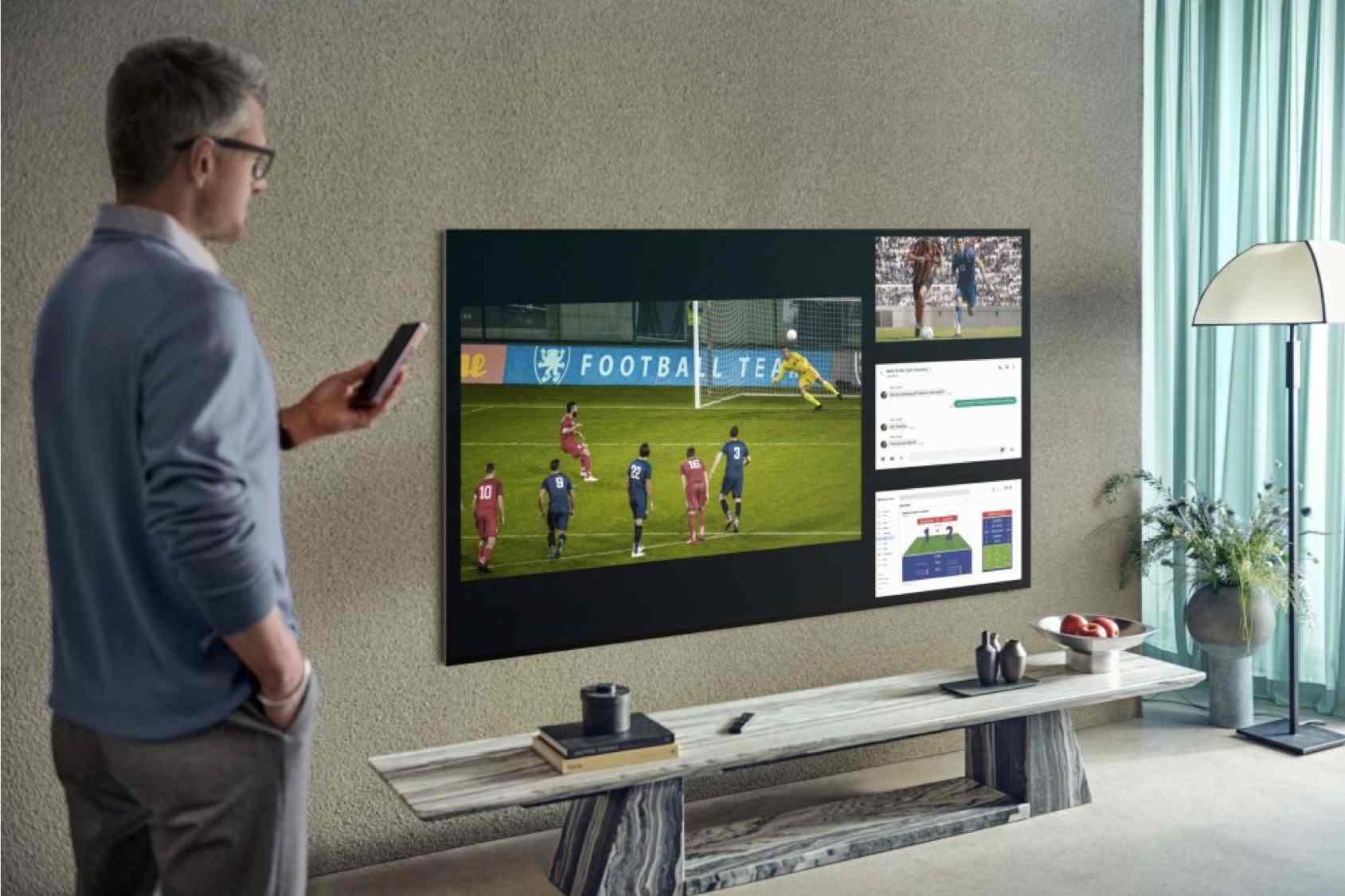 Pantalla Múltiple, la función de los Smart TVs Samsung para disfrutar hasta de cuatro contenidos en simultáneo