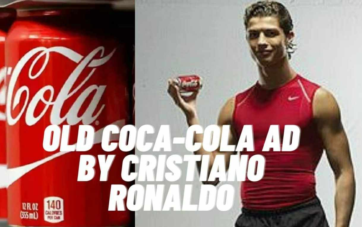 ¡Revivieron comercial de Cristiano Ronaldo con Coca – Cola!